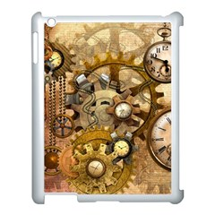 Steampunk Apple Ipad 3/4 Case (white) by Ancello