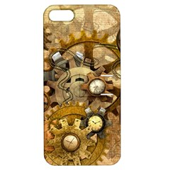 Steampunk Apple Iphone 5 Hardshell Case With Stand by Ancello