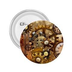 Steampunk 2 25  Button by Ancello