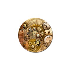 Steampunk Golf Ball Marker 10 Pack