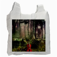 Last Song Recycle Bag (one Side) by Ancello