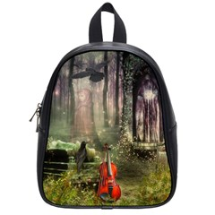 Last Song School Bag (small) by Ancello