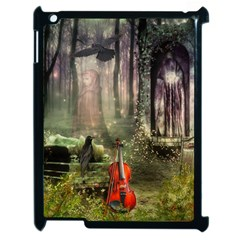 Last Song Apple Ipad 2 Case (black) by Ancello