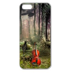 Last Song Apple Seamless Iphone 5 Case (clear) by Ancello