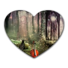 Last Song Mouse Pad (heart) by Ancello