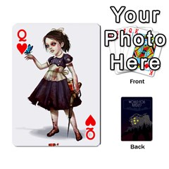 Queen Bioshock By Ryan Rouse   Playing Cards 54 Designs   Cwgpfrzvwli0   Www Artscow Com Front - HeartQ