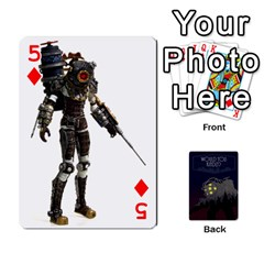 Bioshock By Ryan Rouse   Playing Cards 54 Designs   Cwgpfrzvwli0   Www Artscow Com Front - Diamond5