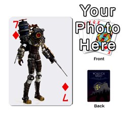 Bioshock By Ryan Rouse   Playing Cards 54 Designs   Cwgpfrzvwli0   Www Artscow Com Front - Diamond7