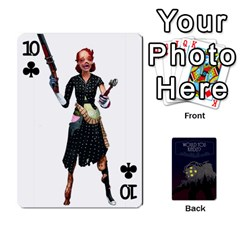 Bioshock By Ryan Rouse   Playing Cards 54 Designs   Cwgpfrzvwli0   Www Artscow Com Front - Club10