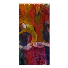 Colorful Dancer-Gymnast  Shower Curtain 36  x 72  (Stall)