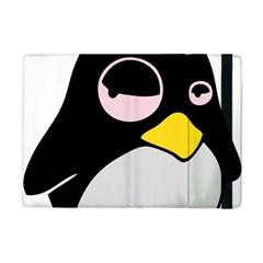 Lazy Linux Tux Penguin Apple Ipad Mini Flip Case by youshidesign