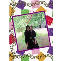 Bruchie By Sara   Greeting Card 5  X 7    3ivzt5jimwva   Www Artscow Com Front Inside