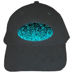 Glitter Dust 1 Black Baseball Cap by MedusArt