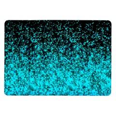 Glitter Dust 1 Samsung Galaxy Tab 10 1  P7500 Flip Case by MedusArt