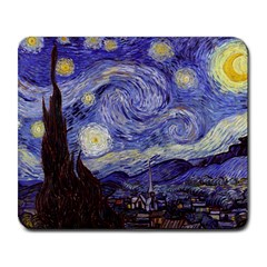 Vincent Van Gogh Starry Night Large Mouse Pad (Rectangle) by MasterpiecesOfArt
