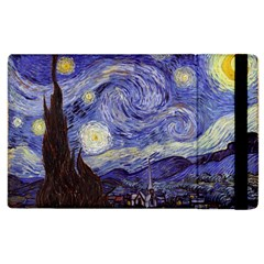 Vincent Van Gogh Starry Night Apple Ipad 2 Flip Case by MasterpiecesOfArt