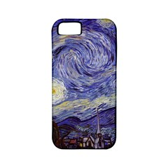 Vincent Van Gogh Starry Night Apple Iphone 5 Classic Hardshell Case (pc+silicone) by MasterpiecesOfArt