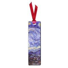 Vincent Van Gogh Starry Night Small Bookmark by MasterpiecesOfArt