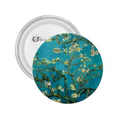 Vincent Van Gogh Blossoming Almond Tree 2.25  Button by MasterpiecesOfArt
