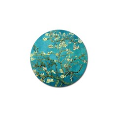 Vincent Van Gogh Blossoming Almond Tree Golf Ball Marker by MasterpiecesOfArt
