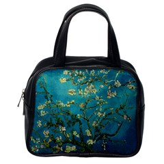 Vincent Van Gogh Blossoming Almond Tree Classic Handbag (one Side) by MasterpiecesOfArt
