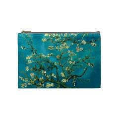 Vincent Van Gogh Blossoming Almond Tree Cosmetic Bag (medium) by MasterpiecesOfArt