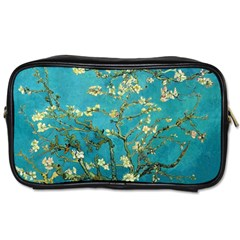 Vincent Van Gogh Blossoming Almond Tree Travel Toiletry Bag (Two Sides) by MasterpiecesOfArt