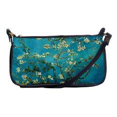 Vincent Van Gogh Blossoming Almond Tree Evening Bag by MasterpiecesOfArt