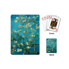 Vincent Van Gogh Blossoming Almond Tree Playing Cards (mini) by MasterpiecesOfArt