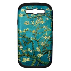 Vincent Van Gogh Blossoming Almond Tree Samsung Galaxy S Iii Hardshell Case (pc+silicone) by MasterpiecesOfArt