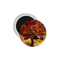 Vincent Van Gogh Mulberry Tree 1 75  Button Magnet by MasterpiecesOfArt