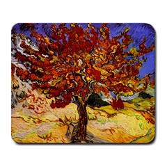 Vincent Van Gogh Mulberry Tree Large Mouse Pad (rectangle) by MasterpiecesOfArt