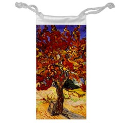 Vincent Van Gogh Mulberry Tree Jewelry Bag by MasterpiecesOfArt