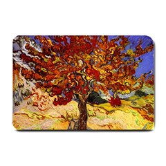 Vincent Van Gogh Mulberry Tree Small Door Mat by MasterpiecesOfArt