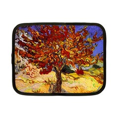 Vincent Van Gogh Mulberry Tree Netbook Sleeve (small) by MasterpiecesOfArt