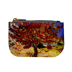 Vincent Van Gogh Mulberry Tree Coin Change Purse by MasterpiecesOfArt