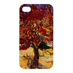 Vincent Van Gogh Mulberry Tree Apple Iphone 4/4s Hardshell Case by MasterpiecesOfArt