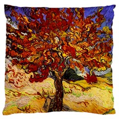 Vincent Van Gogh Mulberry Tree Large Cushion Case (two Sided)  by MasterpiecesOfArt