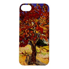 Vincent Van Gogh Mulberry Tree Apple Iphone 5s Hardshell Case by MasterpiecesOfArt