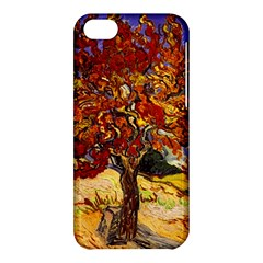 Vincent Van Gogh Mulberry Tree Apple Iphone 5c Hardshell Case by MasterpiecesOfArt