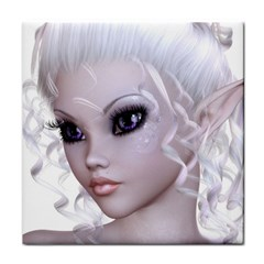 Fairy Elfin Elf Nymph Faerie Ceramic Tile by goldenjackal