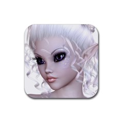 Fairy Elfin Elf Nymph Faerie Drink Coaster (square) by goldenjackal