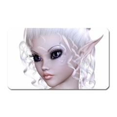 Fairy Elfin Elf Nymph Faerie Magnet (rectangular) by goldenjackal