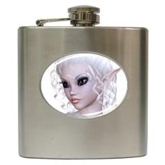 Fairy Elfin Elf Nymph Faerie Hip Flask by goldenjackal