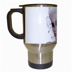 Fairy Elfin Elf Nymph Faerie Travel Mug (white) by goldenjackal