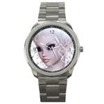 Fairy Elfin Elf Nymph Faerie Sport Metal Watch