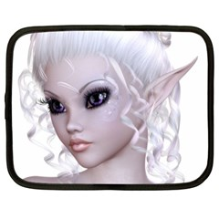 Fairy Elfin Elf Nymph Faerie Netbook Sleeve (xl) by goldenjackal