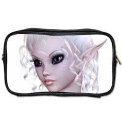 Fairy Elfin Elf Nymph Faerie Travel Toiletry Bag (two Sides) by goldenjackal