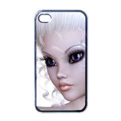 Faerie Nymph Fairy Apple Iphone 4 Case (black) by goldenjackal