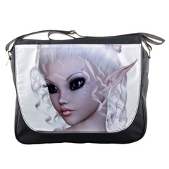 Fairy Elfin Elf Nymph Faerie Messenger Bag by goldenjackal